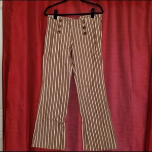 Tory Burch Striped Sailor Trousers 🛳